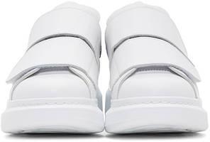 """Кроссовки Alexander McQueen Velcro White Black """"Белые"""", фото 2"""