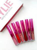 Набор помады Kylie Limited Edition With Every Purchase 6 штук розовый!Топ Продаж