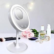 Косметичне дзеркало З LED Підсвічуванням і Вентилятором Beauty Breeze Mirror