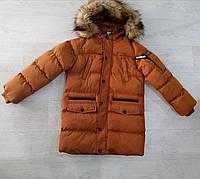Куртка утепленная для мальчика, 8 лет,  № 70900-1
