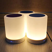 Портативная колонка Bluetooth S-66 Touch sound lamp + сенсорный светильник! Акция