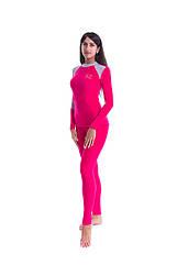 Комплект женского термобелья C D Coral woman красно серый. Термобелье женское Coral fleece