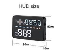 Проектор Скорости на лобовое стекло HUD A3, без риска