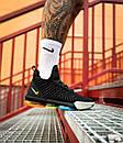 """Кросівки чоловічі Nike Lebron 16 EP LBJ """"Black Metallic Silver"""", фото 3"""