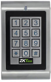 Антивандальная кодовая панель доступа по картам Mifare ZKTeco MK-HM