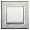 Рамка 4Х горизонтальная Lumina-Passion черный алюминий, фото 2