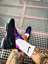 Кроссовки мужские Nike LeBron 16 White Graffiti Black, фото 3