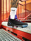 Кроссовки мужские Nike LeBron 16 White Graffiti Black, фото 4