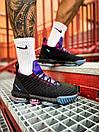 Кросівки чоловічі Nike LeBron 16 White Graffiti Black, фото 10