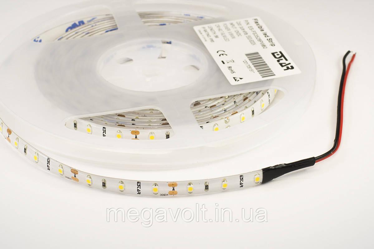 Светодиодная лента ESTAR SMD 3528/60 (IP65) premium 12V белая (6000-6500К)