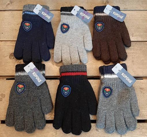 Детские перчатки осень 5-7 лет мальчик, фото 2