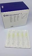 Иглы для мезотерапии и озонотерапии 0,3 х 13 стерильные (30G) BD Microlance