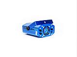 Лазерный проектор mini LASER HJ08 4in1 для создания праздничной атмосферы Синий, фото 2