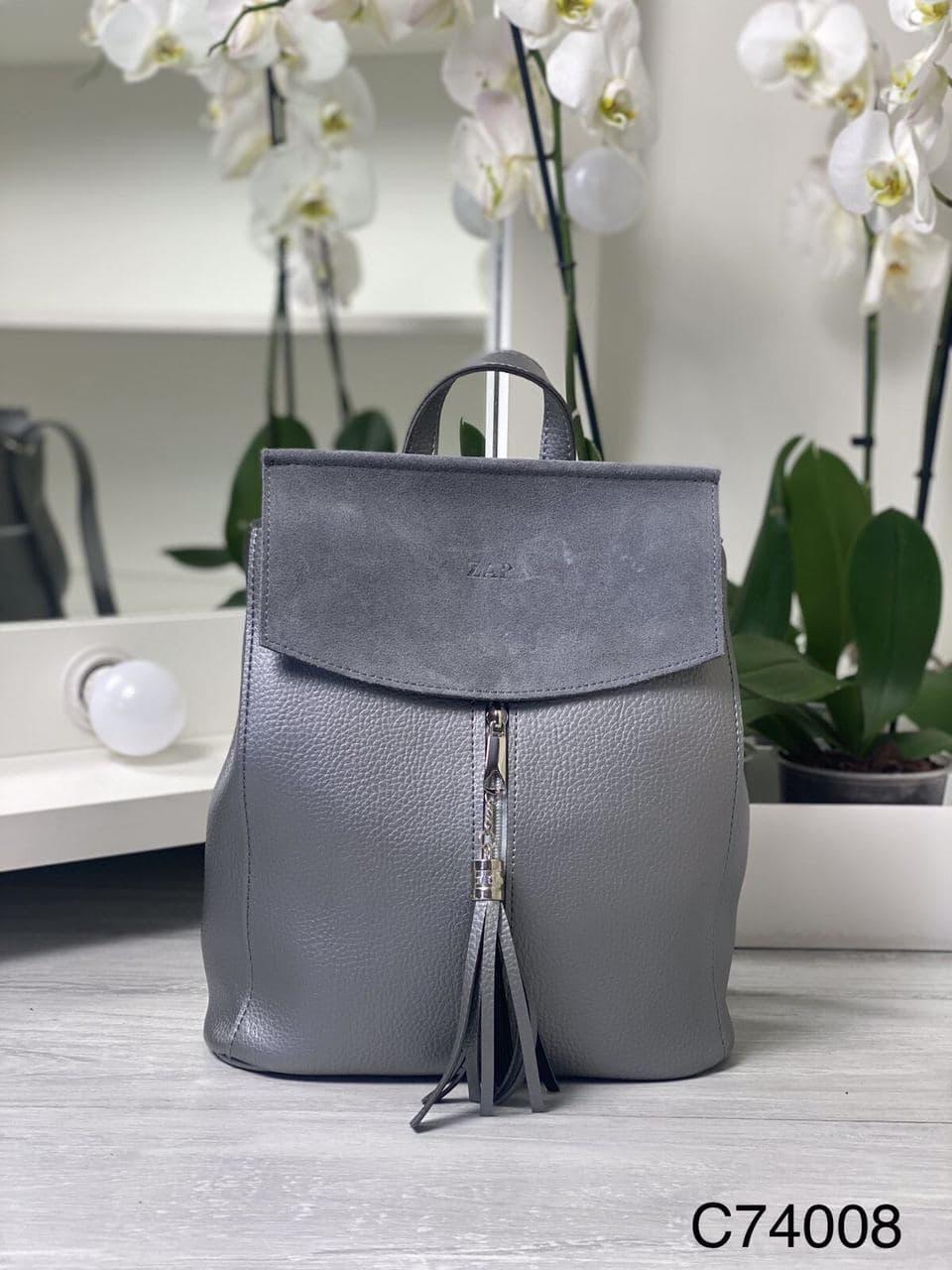 Сумка Женская Рюкзак С74008-gray