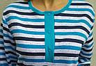 Пижама женская теплая с пуговицами футер Украина р108, 20036867, фото 3
