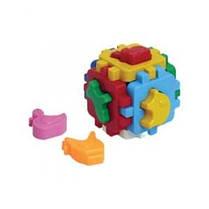 Куб Розумний малюк міні Свійські тварини (48 ш/к) 10* 10* 10 см Технок