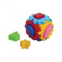 Куб Розумний малюк міні  (48 ш/к) 10* 10* 10 см Технок