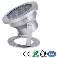 Подводный светильник 9W RGB IP68 светодиодный  Premium Ecolend, фото 1