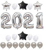 Набор шаров на Новый Год 05