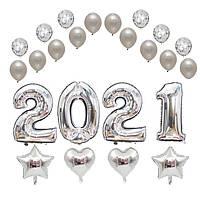 Набор шаров на Новый Год 02