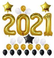 Набор шаров на Новый Год 06