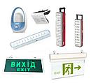 Светильники аккумуляторные, аварийные, фонарики