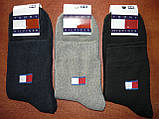 """Мужские махровые носки """"в стиле"""" """"Tommy Hilfiger"""". р. 41-45. Ассорти. Турция, фото 5"""