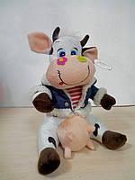 Мягкая игрушка Корова модная, 25 см,