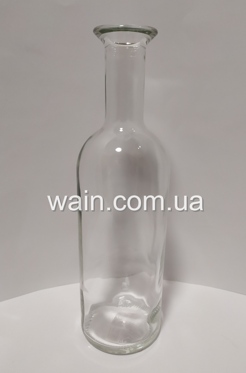 Стеклянная бутылка 1 л для хранения и подачи напитков Olympus Carafe UniGlass