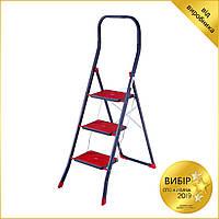 Лестница 3-ступенчатая SUPER UP 3 Eurogold D2023HR