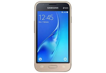 Смартфон Samsung Galaxy J1 Mini J105H Gold Stock B, фото 2