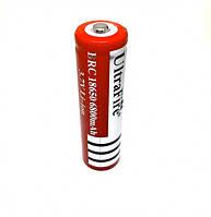 Аккумулятор 18650 Ultrafire 3.7В 6800 Ма*ч Аккумулятор Литий-Ионный 18650 Ultrafire 6800 Mah Li-Ion Mb