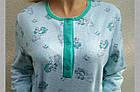 Пижама женская теплая с пуговицами футер Украина р92 20036850, фото 7