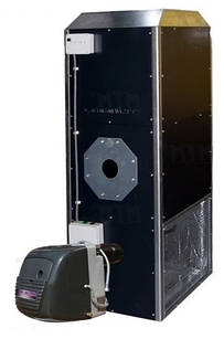 Воздухонагреватель на отработке MTM MP-35 (40 кВт) + Горелка MTM CTB-65