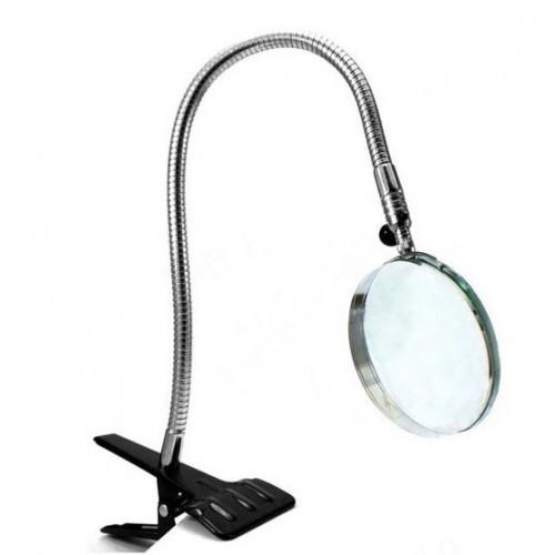 Лупа Настольная На Прищепке Flexible Neck Magnifier 15121