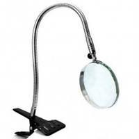 Лупа Настольная На Прищепке Flexible Neck Magnifier 15122