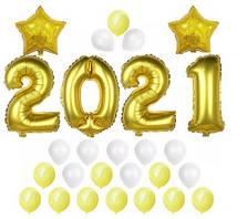 Набор шаров на Новый Год 08