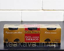 Паштет печеночный свиной иберийский Pena Negro Iberico Pate, 3шт*250г (Испания)
