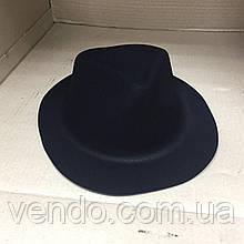 Шляпа пластиковая Мафия классическая мужская черная