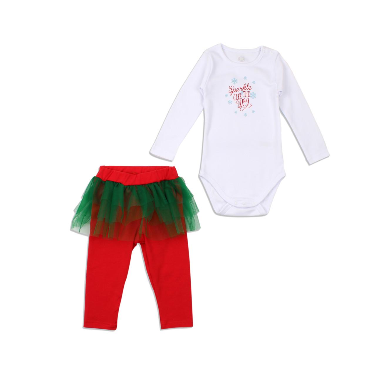 Комплект для дівчаток святковий Фламінго