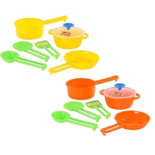 Набор детской посуды Повар №1 19 5 * 13 5 * 9 см ТМ POLESIE