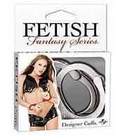 Настоящие наручники метал Pipedream Designer Cuffs - Silver подарок любимому человеку супер игрушка для секса