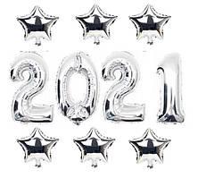 Набор шаров на Новый Год 057