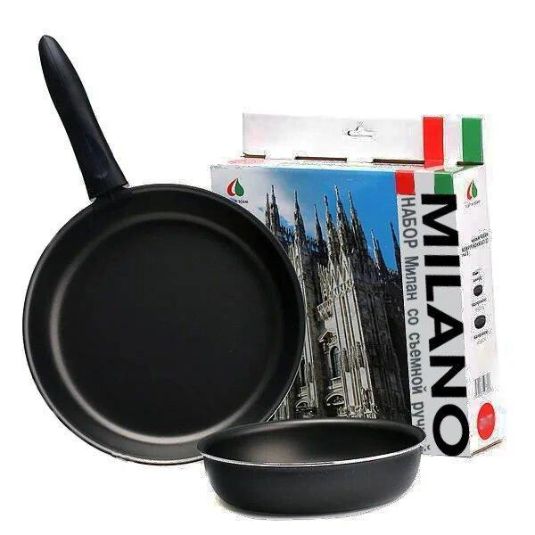 Набор Сковородок Tvs Milano 770269 Набор Посуды Tvs Сковорода