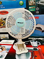 Вентилятор Wimpex Wx-707 2 В 1 Настольный Вентилятор На Прищепке, фото 1
