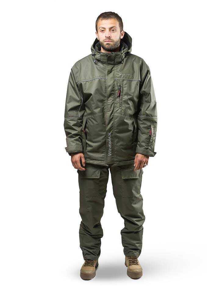Костюм Демисезонный Windmax Skadi Sd-5 Green Для Охоты И Рыбалки Размер 46-64