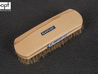 Щетка для обуви Saphir Natural Horsehair Brush, натуральный конский волос  (2643008)