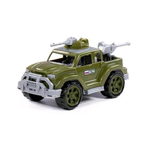 Автомобиль-пикап военный Легионер мини с 2-мя пулеметами (в сеточке) ТМ POLESIE