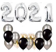 Набор шаров на Новый Год 060