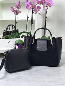 Набор сумка и клатч код С73837 цвет черный